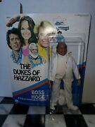 Mego Corp Boss Hogg Mint On Sealed Card Mosc Unpunched Dukes Of Hazzard 1981