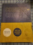 1960 1961 1962 Chevrolet Chevy Ii Corvair Parts Accessories Catalog Manual