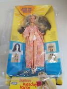 Vintage Ideal Suntan Tuesday Taylor Doll Sealed Nrfb 1977 Hair Color Changes