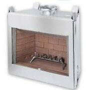 Stainless Steel 42 Fireplace Insert