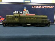 Atlas O Reading 484 Rs-3 Diesel Engine W/ Lionel Railsounds And Tmcc 0438-1