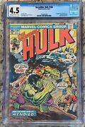Incredible Hulk 180 Cgc 4.5 Oww Pages 1st Appearance Wolverine