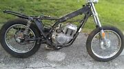 1975 Aermacchi Harley Sprint Ss250 Frame Motor Wheels 875 Miles 4 Parts Project