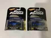Hot Wheels Fast And Furious Retro Skyline Lot Of 2