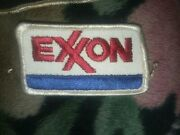 Vintage Exxon Sew On Patch Emblem,buy Is One Patch Pictured Old Stock