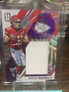 Patrick Mahomes Ii 2017 Unparalleled Wedges Chiefs Rc Rookie Jersey 16/99 Pair