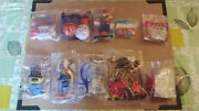 New Vintage Toys Lot Of 10 Burger King Wendy's Taco Bell Mcdonald's Subway