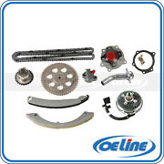 Fit Buick Gmc 4.2l Timing Chain Kit Water Pump Fan Clutch Thermostat Housing
