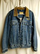 Swingster Kalmbach Feeds Insulated Denim Ranger Jacket. Size M. Preowned.2763