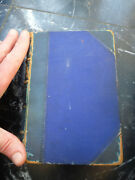 Old Very Rare Book 1864 Bible Dictionary James Austin Bastow Map Palestine