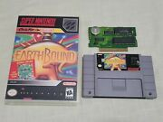 Earthbound Super Nintendo Snes Authentic - Tested And Working