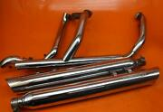 07 Harley-davidson Electra Glide Flht Full Screaming Eagle Mufflers Exhaust Pipe