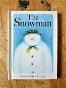 Signed Miniature Edition Of The Snowman. Raymond Briggs Father Christmas. 1st