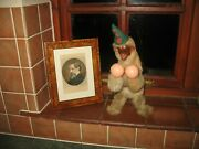 Lovely Elie Martin French Automaton Monkey Wind Up Vintage Toy Roullet Decamps