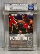 1987 Nes Mike Tysonand039s Punch-out Wata 7.0 Cib