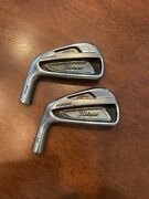 Titleist Ap2 714 Irons 3 And 4 - Heads Only Left Handed