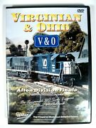 Pentrex Dvd Virginian And Ohio Mcclelland Ho Afton Division Finale Play Tested
