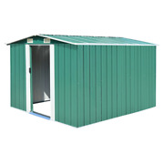 Vidaxl Garden Shed Metal Tool Storage House Outdoor Patio Multi Sizes/colors