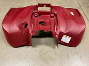 2017 Yamaha Grizzly 700 Rear Back Fender Mud Guard 2ud-f1611 Plastic Red