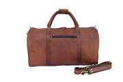 Vintage Leather Duffle Bag Travel Luggage Handbags Aircabin Carry-on Holdall 20