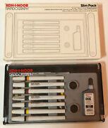 Vintage Koh-i-noor Rapidograph Set Of 7 Technical Pens Ink Box Instructions