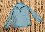 Nwt Peter Millar Woman's Performance4 Wind Pullover Jacket Light Weight Size S
