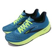 Brooks Hyperion Tempo Blue Yellow Men Running Workout Shoes 1103391d-491