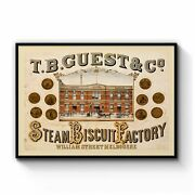 Steam Biscuit Factory Melbourne Vintage Wall Art