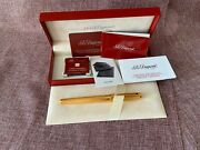 S.t. Dupont. Fountain Pens. Size M