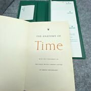 Rolex Green Note Pad + Anatomy Of Time Book, Nice Vintage Condition