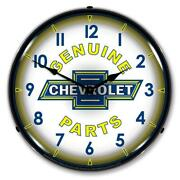 Chevrolet Genuine Parts 14 Led Wall Clock