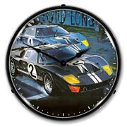 Ford Gt-40 14 Led Wall Clock