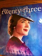 Disney D 23 Exclusive Magazine 8 Decades Of Mary Poppins / Wreck It Ralph New