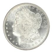 1882 S Morgan Silver Dollar Bu Uncirculated Ms White - From Roll