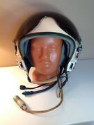 The Early Aviation Helmet Of The Pilot Zsh-5s.1970s.very Rare.
