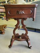 Antique Davis Cabinet Company Lillian Russell Collection Cherry Wood Little...