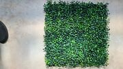 47 Pieces 20x 20 Artificial Boxwood Panels Topiary Hedge Plant Privacyandnbsp