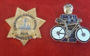 California Highway Patrol Super Bowl And Bike Officer Coin Ela Chp Lapd Police