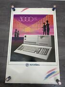 """Tandy 3000 Hl """"super Rare"""" Promotional In Store Poster Inertan Ibm Clone 1987"""