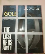 Casque Ps4 Sans Fil Sony Gold - The Last Of Us Part Ii - Neuf Sous Emballage