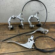 Vintage Raleigh Brake Calipers Levers Sports Superbe Chopper 3s 3 Speed England
