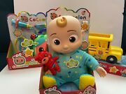 Cocomelon Toy Set Ships Fast Includes Jj Doll School Bus And Doctor Checkup Set