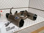 Pair Silencers Racing Termignoni For Ducati Panigale V4
