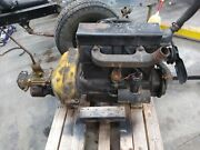 Chevy 171 Engine And Transmission 3 Speed 1920s - 1930 Running