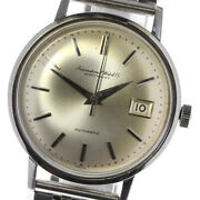 Antique Cal.8541 Silver Dial Automatic Menand039s Watch_626819