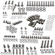 Engine Bolts Kit Set Stainless Small Block 265 283 305 327 350 Hex For Chevy Sbc
