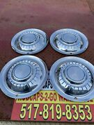 Airstream 15andrdquo Hubcaps Full Wheel Covers Used 1959-1976 Stainless Retro Verycool