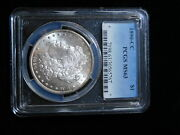 1890-cc 1 Morgan Silver Dollar - Pcgs- Ms63- Harder Carson City In Mint State