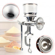 Manual Hand Grain Corn Flour Mill Wheat Coffee Stainless Steel Rice Grinder Us