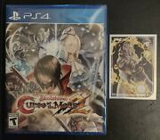 Bloodstained Curse Of The Moon 2 Ps4 Playstation 4 Limited Run 390 Unopened